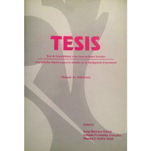 TESIS - Test de Sensibilidad en las Interacciones Sociales - Una prueba objetiva para la medida de la Inteligencia Emocional